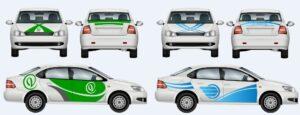 Что такое брендирование легковых автомобилей и в чем его преимущества?